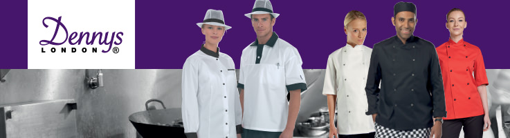 image of embroidered chef wear, printed aprons Hounslow West London
