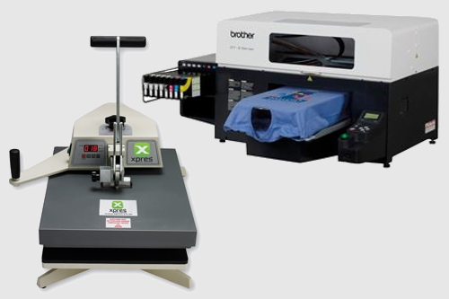 image of dtg printer, heatpress hounslow